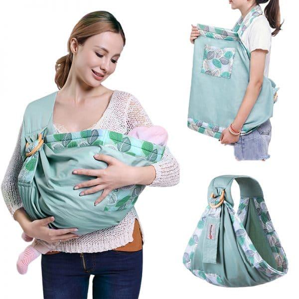 מנשא קנגורו לתינוק תנוחות נוח נסיעות לבית לתינוק תינוקת יולדת מתנת לידה ילדים להזמנה לוקו0ט במבצע