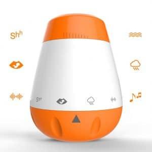 רמקול נייד נטען צלילים טבע רעש לבן לטיולים חופשות נסיעות טיסות לבית לחדר שינה לרכישה אונליין לוקו0ט מומלץ