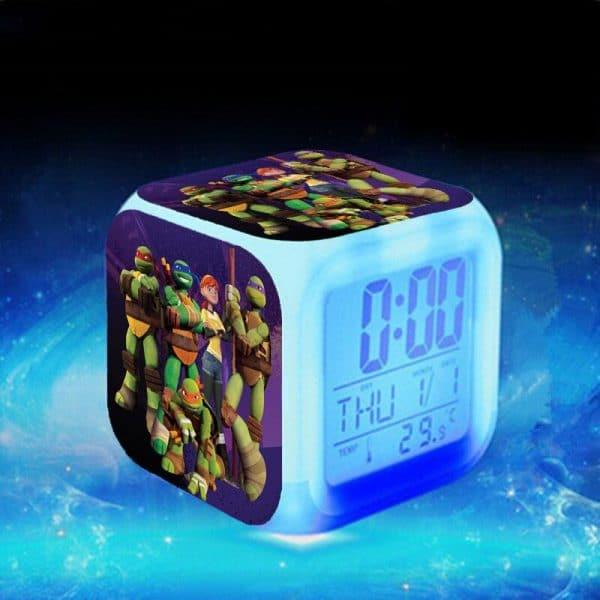 שעון קוביה לד-חד קרן יוניקורן טרולים-להזמנה לוקו0ט