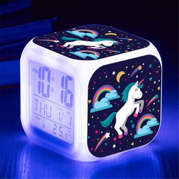 שעון מעורר-חד קרן יוניקורן טרולים-להזמנה לוקו0ט