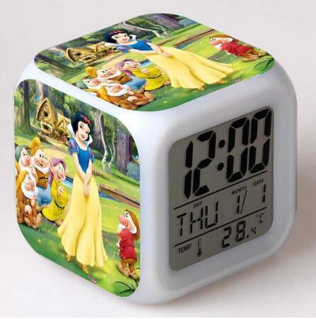 שעון קוביה לד-פרוזן אנה ואלזה קדחת החורף קרח-להזמנה לוקו0ט