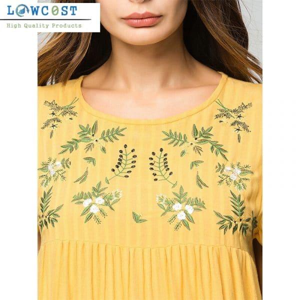 שמלות גזרה גבוהה לאירוע לעבודה לחופשה להזמנה לוקו0ט בזול