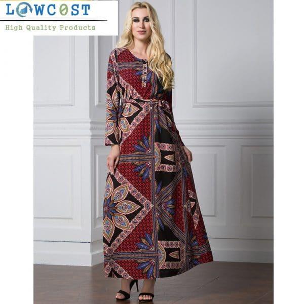 שמלות מקסי לאירוע לעבודה לחופשה להזמנה לוקו0ט בזול