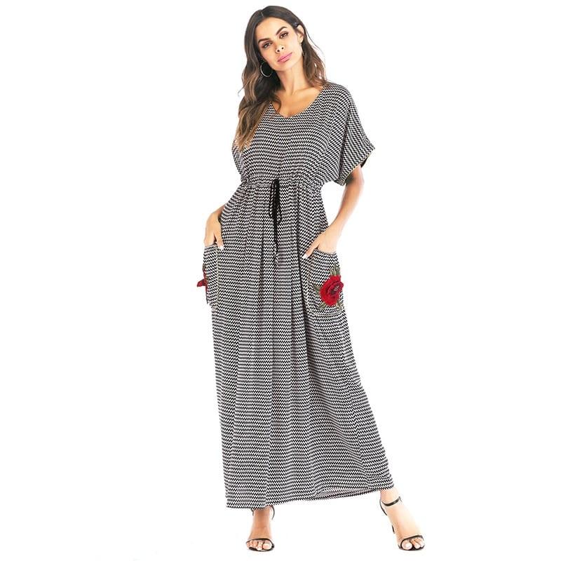 שמלות מקסי לנשים דתיות צנועות לקיץ XL להזמנה לוקו0ט