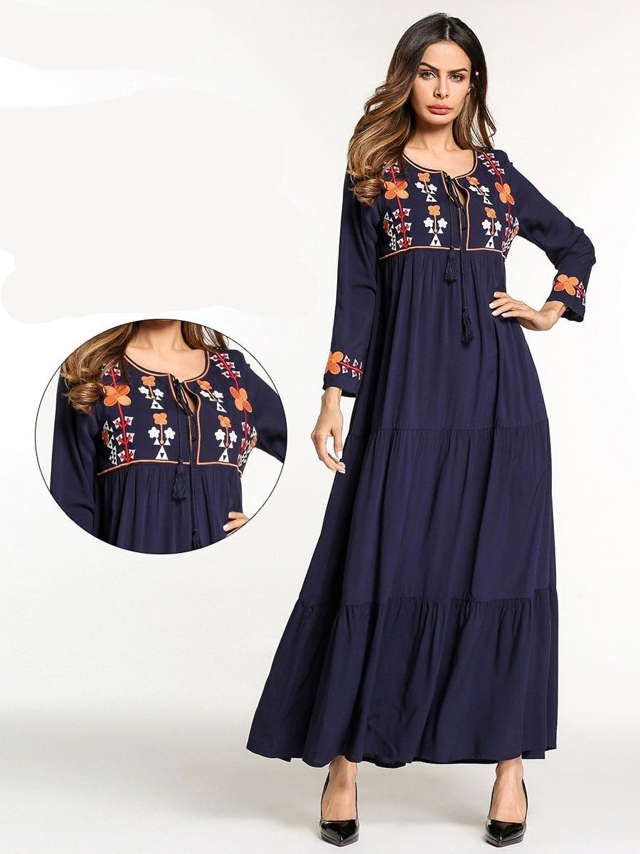 שמלות מקסי לנשים דתיות צנועות לקיץ XL לוקו0ט לרכישה אונליין