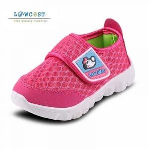 נעלי ילדים ילדות לקיץ נוחות לגן לבית הספר להזמנה לוקו0ט