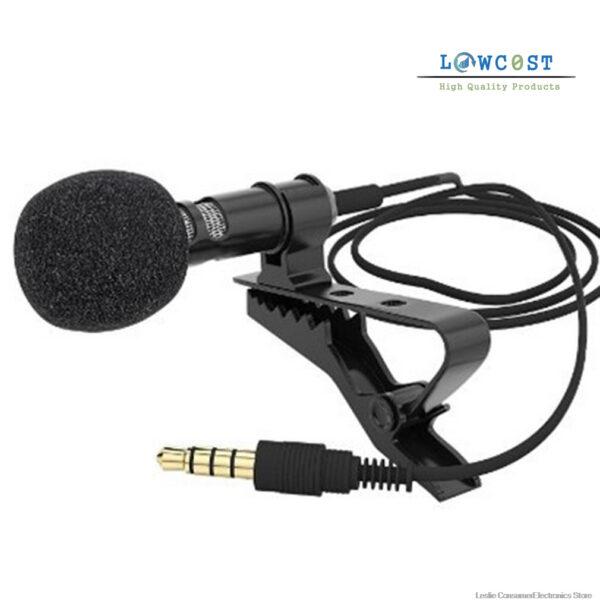 מיקרופון לסמארטפון חיצוני מקצועי להקלטה לזום לראיונות לוקו0ט להזמנה בזול